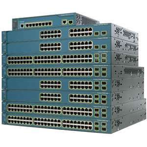 Cisco Catalyst 3560V2 Layer 3 Switch - 2 x SFP (mini-GBIC) - 24 x 10/100Base-TX