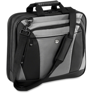 "Targus CityLite TBT050US 16"" Notebook Case - 13.5"" x 17.5"" x 4.6"" - Nylon - Black, Gray"