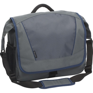 "Targus Incognito TSM07003US 15.6"" Notebook Messenger - 12.8"" x 14.8"" x 5.51"" - Nylon - Blue, Gray"
