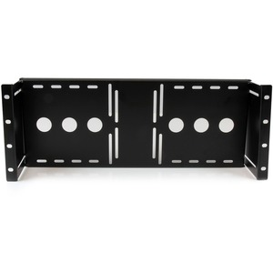 StarTech.com Universal VESA LCD Monitor Mounting Bracket for 19in Rack or Cabinet - Black