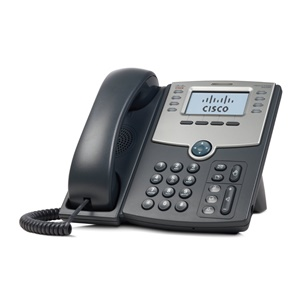 Cisco SPA508G IP Phone - 2 x RJ-45 10/100Base-TX , Sub-mini phone Headset - 8Phoneline(s) - Desktop