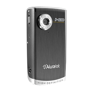 "Aluratek AHDVC01F High Definition Digital Camcorder - Memory Card - 2.4"" Active Matrix TFT Color LCD - 3x"