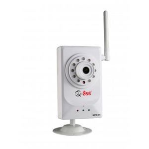 Q-see QSTC201 Network Camera - Color - CMOS - Wireless Wi-Fi, Cable