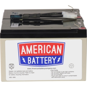 ABC Replacement Battery Cartridge #6 - Maintenance-free Lead Acid Hot-swappable