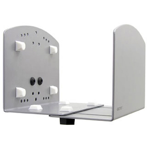 Ergotron Vertical Universal CPU Holder - 40 lb - Silver