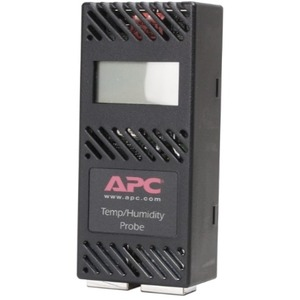 APC Temperature & Humidity Sensor with Display - Black