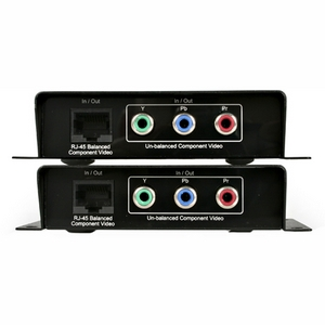 StarTech.com Component Video Extender over Cat 5 - 1 x 1 - 656.17ft