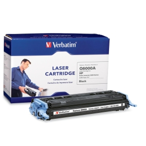 Verbatim HP Q6000A Compatible Black Toner Cartridge (2600) - Black - Laser - 2500 Page - OEM