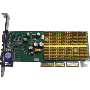 Jaton GeForce 6200 Graphics Card - nVIDIA GeForce 6200 - 256MB DDR SDRAM 64bit - AGP 8x - HD-15 - Retail