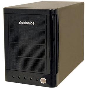 """Addonics MST5X1PM-B 3.5"""" Hard Drive Enclosure - Storage Enclosure - 4 x 3.5"""" - 1/3H Internal  - External - Black"""