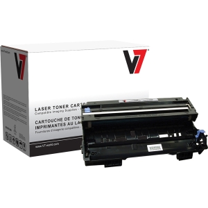V7 Black Drum Unit for Brother DCP-8040/8045; HL-5140 - Laser Imaging Drum - Black - 20000 Page