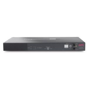 APC Rack Automatic Transfer Switch - 220 V AC - 1U