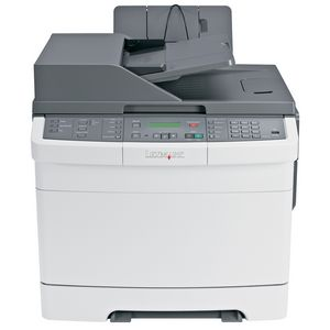 Lexmark X544DW Multifunction Printer - Color - 25 ppm Mono - 25 ppm Color - 1200 x 600 dpi - Fax, Copier, Scanner, Printer