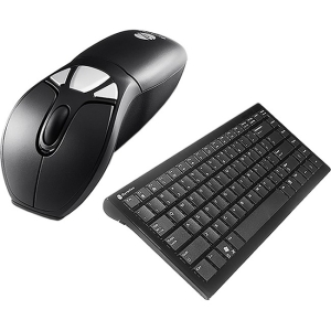 Gyration Air Mouse GO Plus with Full Size Keyboard - Keyboard - Wireless - 104 Keys - USB - Mouse - Wireless - Optical - USB
