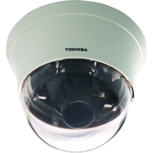 Toshiba IK-DF02A Day/Night Mini-Dome Camera - Color - CCD - Cable