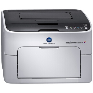Konica Minolta Magicolor 1600W Laser Printer - Color - 20 ppm Mono - 5 ppm Color - 1200 x 600 dpi - USB - PC