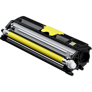 Konica Minolta 120V Standard Capacity Yellow Toner Cartridge - Laser - 1500 Page - Yellow