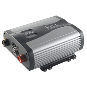 Cobra 1000W DC-to-AC Power Inverter - 12V DC - 120V AC - Continuous Power:1000W