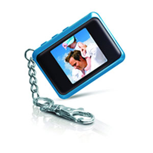 "Coby DP151 Keychain Digital Photo Frame - Photo Viewer - 1.44"" LCD"