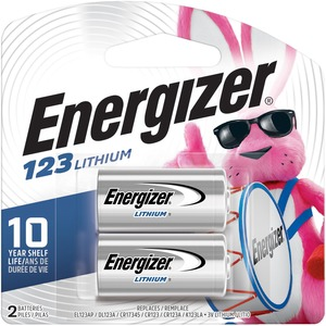 Energizer Lithium Photo Battery for Digital Cameras - 3V DC