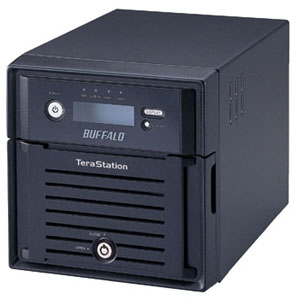 Buffalo TeraStation Duo Hard Drive Array - 2TB - 2 x 1TB Serial ATA Hard Drive - Network, USB