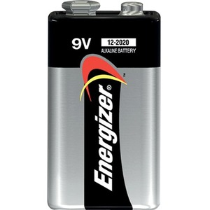 Energizer A522BP Alkaline General Purpose Battery - Alkaline - 9V DC