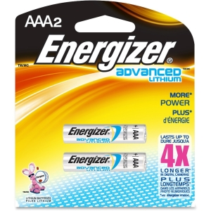 Energizer EA92BP-2  Advanced Lithium General Purpose Battery - 1.5V DC