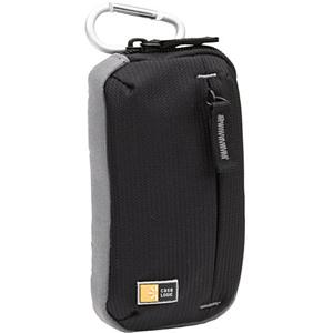 "Case Logic TBC-312 Pocket Video Camcorder Case - 5.75"" x 3.25"" x 1.25"" - Dobby Nylon - Black"