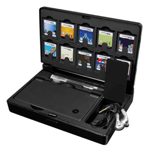 "dreamGEAR Gamer's Vault Case for DSi - 1.6"" x 7.6"" x 5"" - Black"