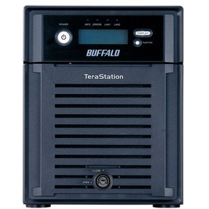 Buffalo TeraStation III Hard Drive Array - 4 x HDD Installed - 4 TB Installed HDD Capacity - RAID Supported - Gigabit Ethernet - Network (RJ-45) - USB 2.0