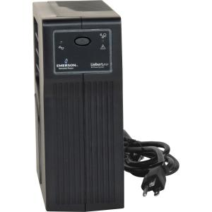 Liebert PSP350MT3-120U 350VA Tower UPS - 350VA/210W - 5 Minute Full Load - 1 x NEMA 5-15R - Surge-protected, 3 x NEMA 5-15R - Battery Backup System
