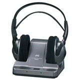 JVC HA-W600RF 900 MHz Wireless Stereo Headphone - Stereo - Wireless - RF - 164 ft - 25 Hz 13 kHz - Over-the-head - Binaural - Circumaural