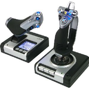 Saitek X52 USB Flight Control System for PC (Joystick and Throttle)