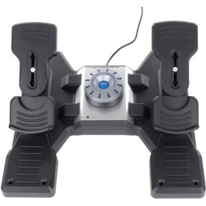 Saitek Pro Flight Rudder Pedals - Cable - USB - PC