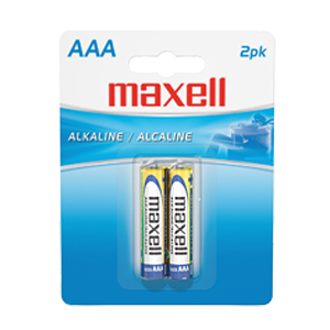 Maxell Alkaline General Purpose Battery - AAA - Alkaline