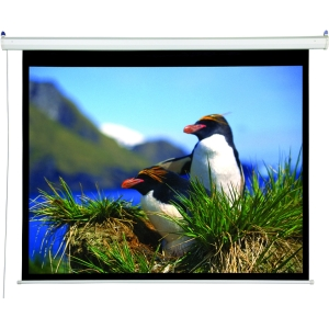 "Draper Accuscreens Electric Projection Screen - 70"" x 95"" - Matte White - 109"" Diagonal"