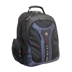 SwissGear PEGASUS GA-7306-06F00 Carrying Case (Backpack) for 17&quot; Notebook - Blue - Polyester, Nylon