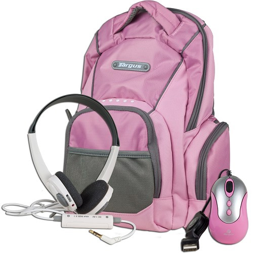 TARGUS My 1st PC Mini Netbook Accessory Bundle (Pink) at Sears.com