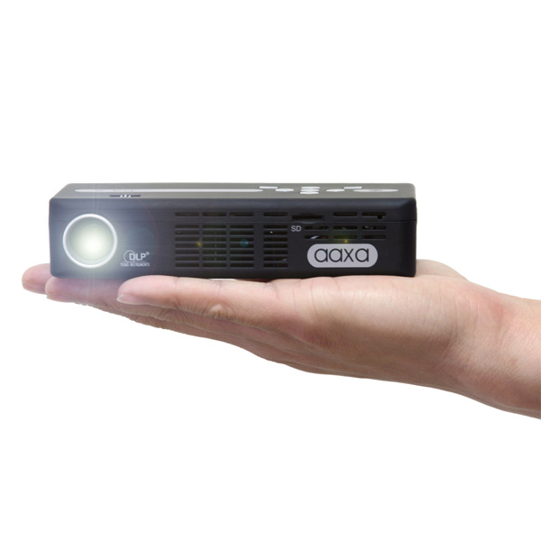 Aaxa technologies pico p4 x dlp pocket size projector for Pico pocket projector