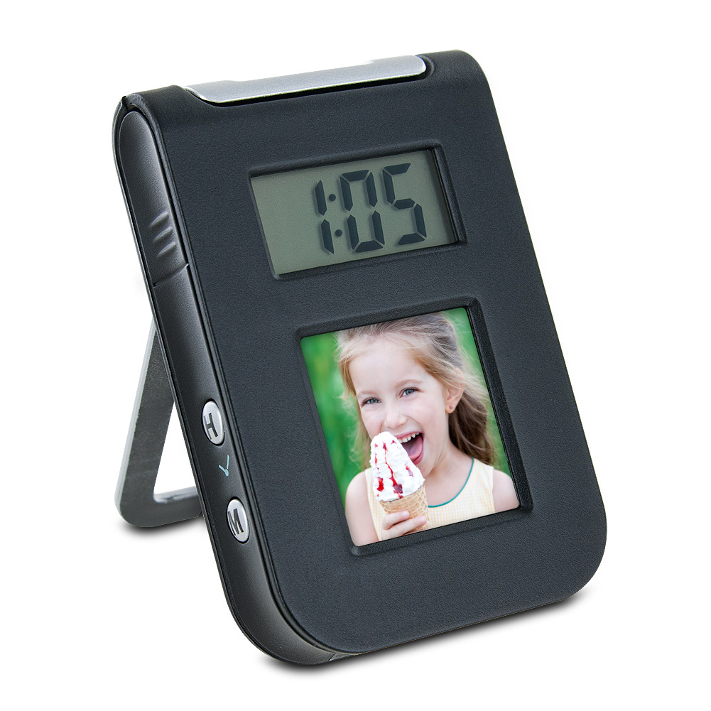 Gear Head 1.5 Digital Photo Frame Travel Alarm Clock at Sears.com