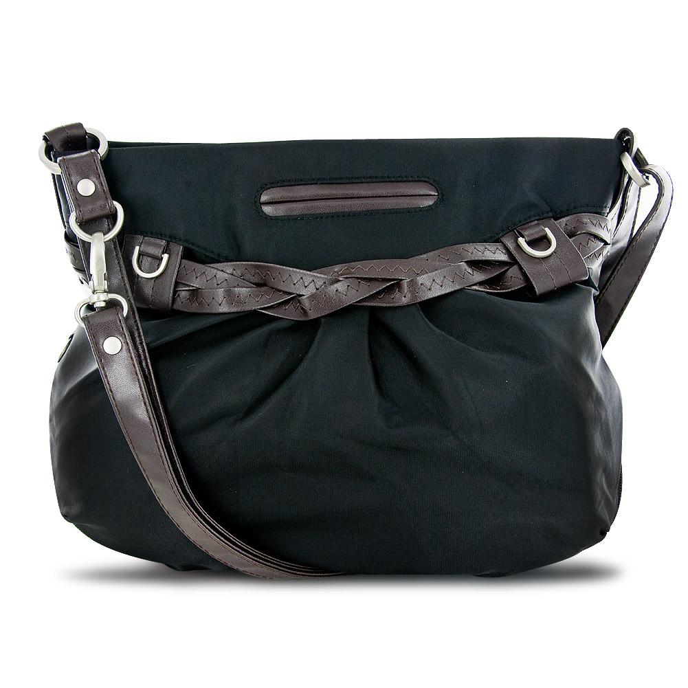 Travelon Shoulder Bag Braided Detail 108