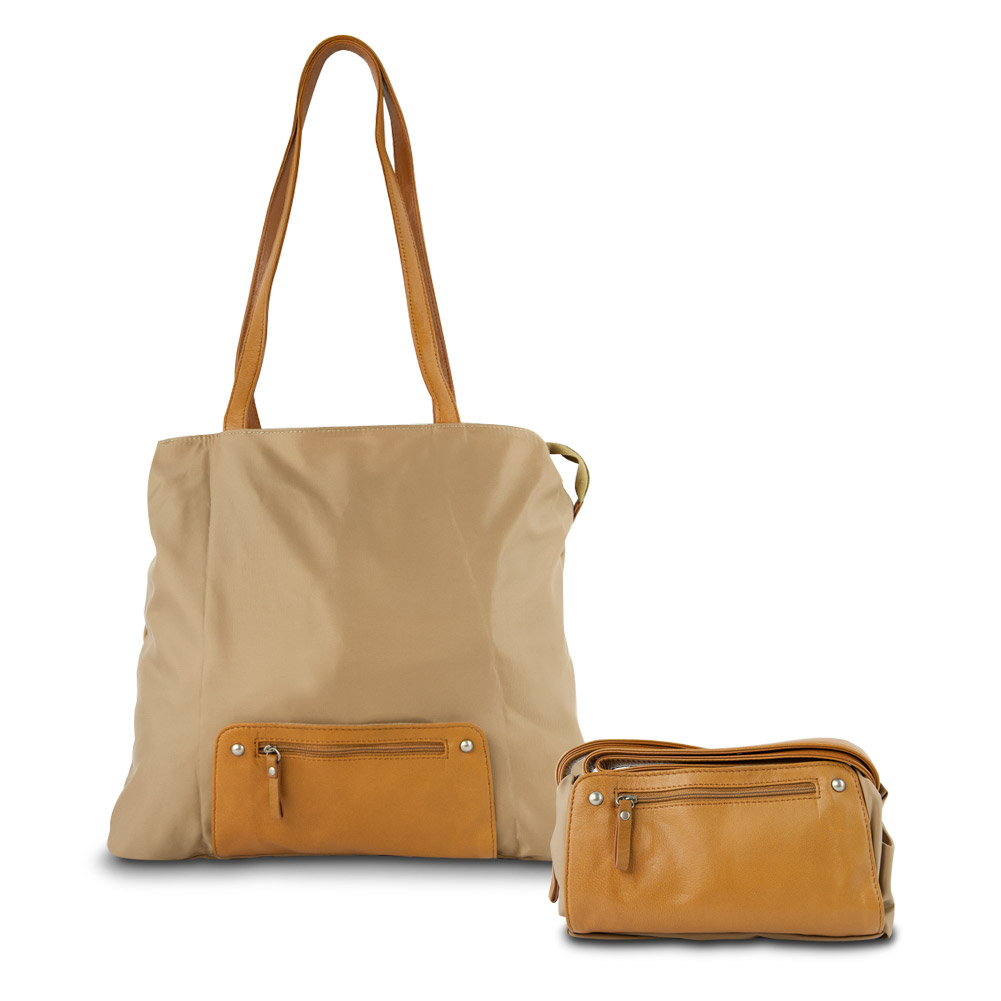 Travelon Foldable Tote Bag