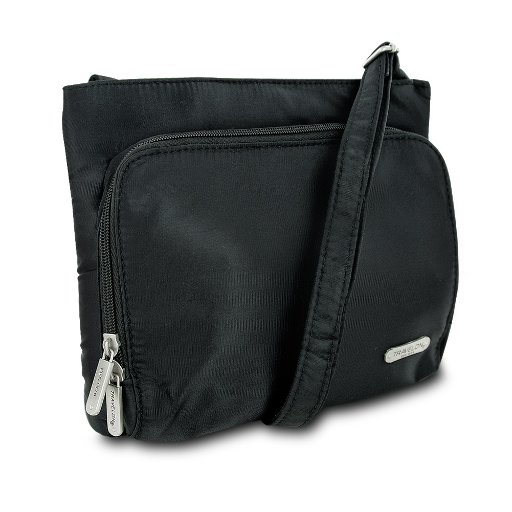 Travelon Classic Hobo Bag (Black w/ Zebra Lining) at Sears.com