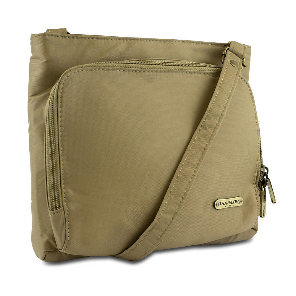 Travelon Classic Hobo Bag (Khaki) at Sears.com