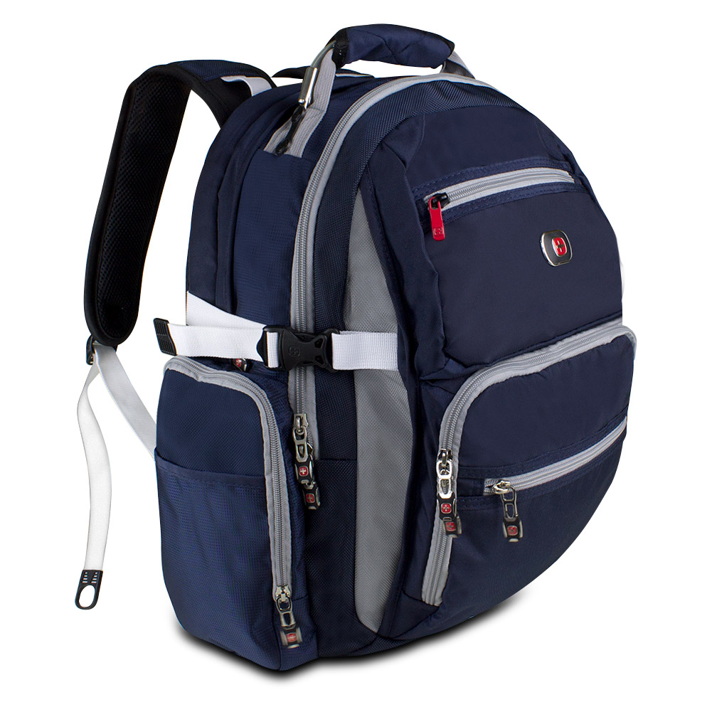 Swiss Gear Backpack Blue - Crazy Backpacks