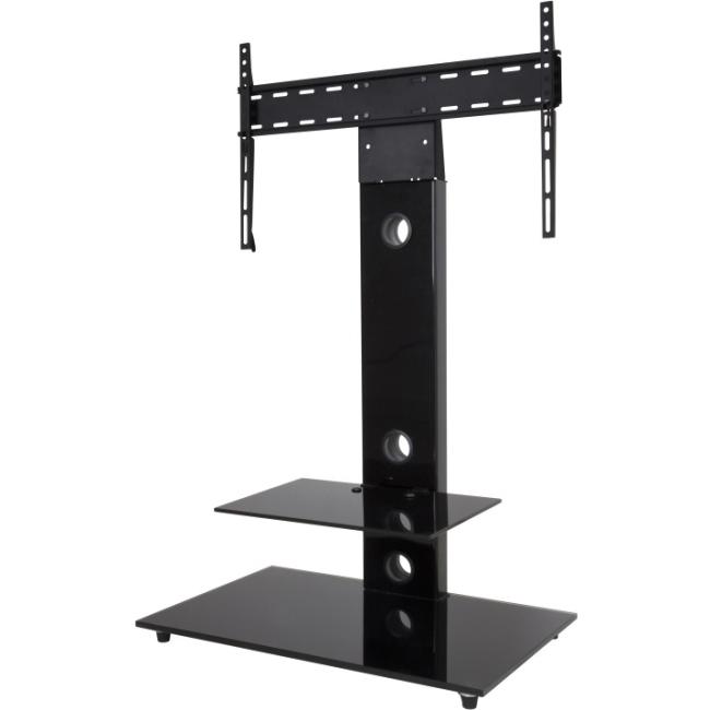 avf tv floor stand with mount for 32 to 55 screens black ebay. Black Bedroom Furniture Sets. Home Design Ideas