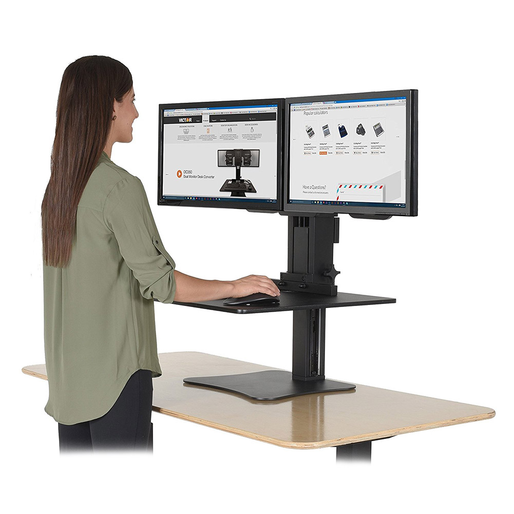 Stand Up Desk Multiple Monitors 28 Images Standing