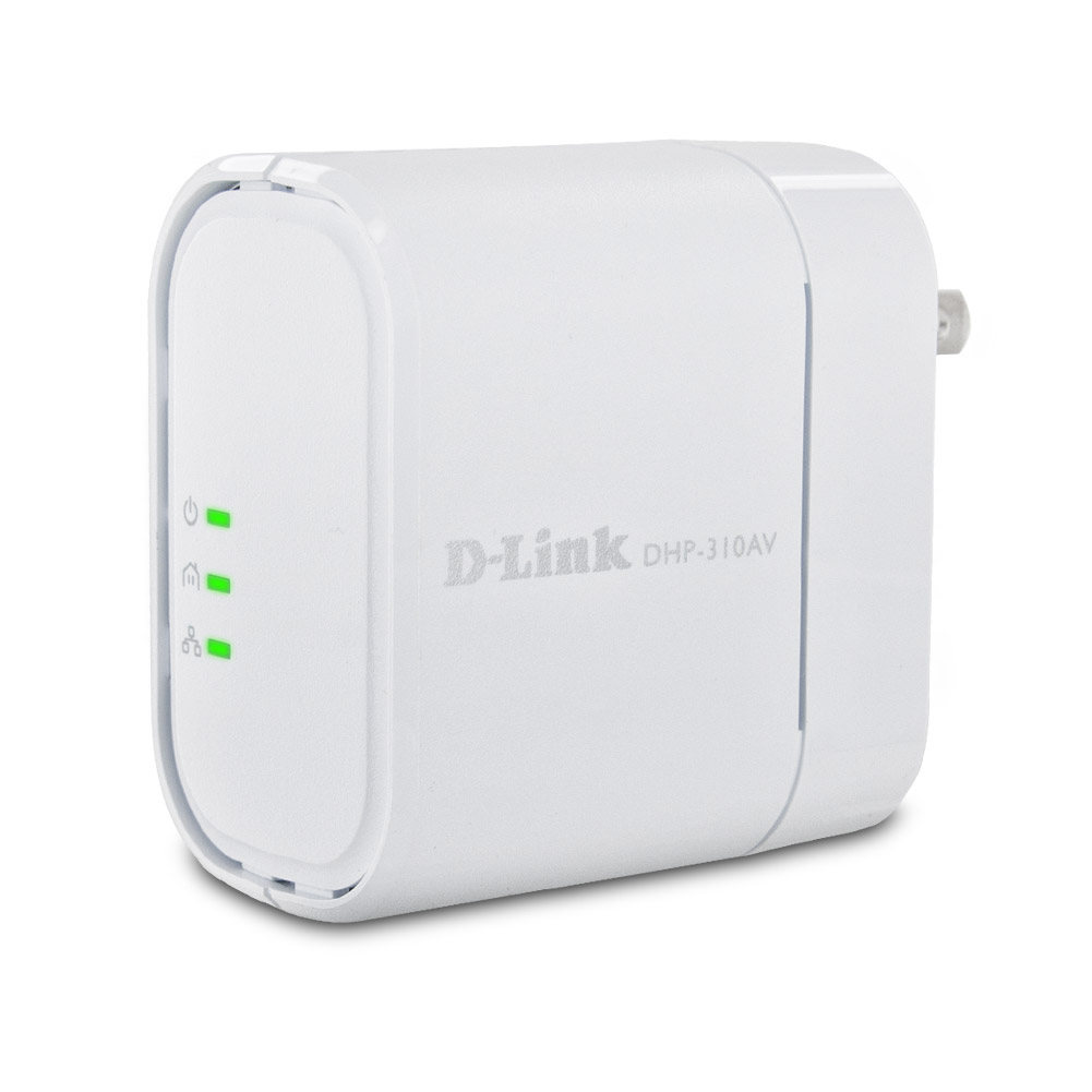 D Link Dhp 310av 200 Mbps Powerline Av Mini Adapter