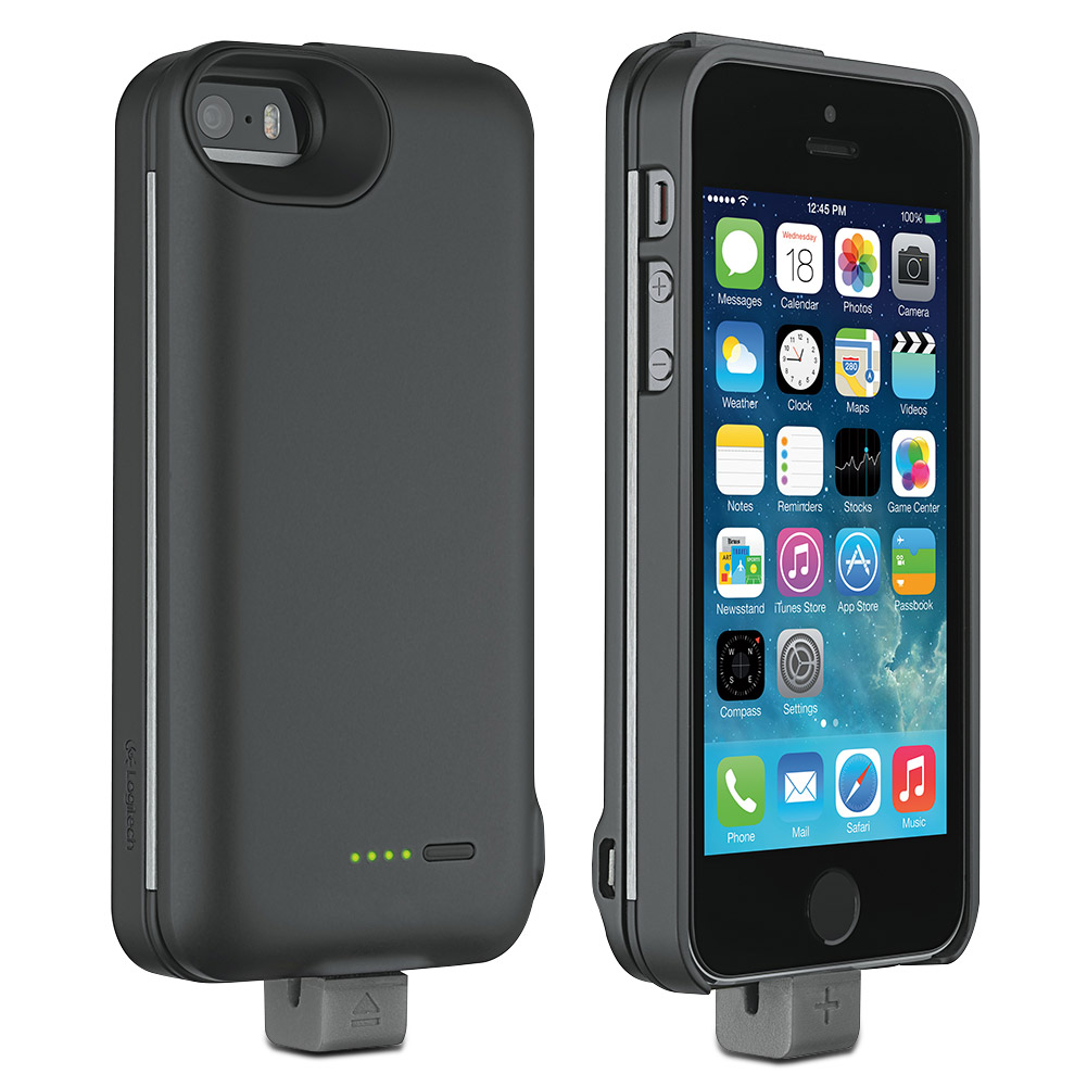 Logitech Case Energy External Battery Pack Amp Case For