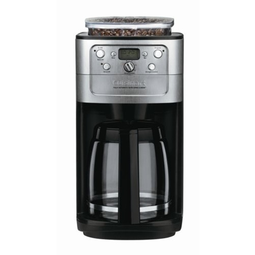 Cuisinart DGB-700BC Grind-and-Brew 12-Cup Automatic Coffeemaker Chrome/Black NEW 86279016522 eBay